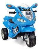 Pojazd elektryczny, na akumulator, motor dla dzieci - NIEBIESKI
