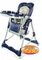Składane krzesełko do karmienia 202 niebieskie