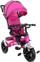 Rowerek trójkołowy z obracanym siedziskiem FUNFIT KIDS - różowy