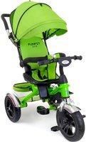 Rowerek trójkołowy z obracanym siedziskiem FUNFIT KIDS - zielony