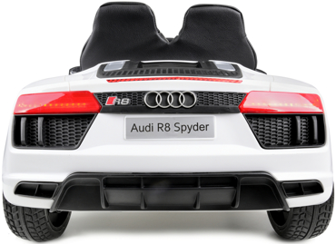 Pojazd akumulatorowy na licencji AUDI R8 SPYDER biały