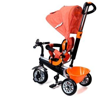 Rowerek Trójkołowy PATY BIKE PLUS - pomarańcz