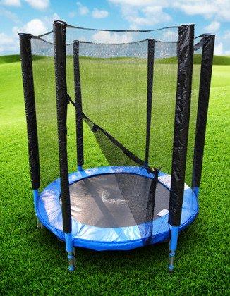 Trampolina składana 150cm z siatką ochronną