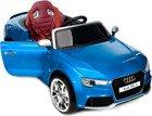 Pojazd elektryczny, na akumulator, Audi RS5 - niebieski