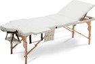 Stół, łóżko do masażu 3 segmentowe drewniane XXL