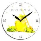 Zegar ścienny Rossa - miód