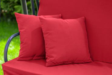 """Huśtawka ogrodowa """"Relax Plus"""" czerwona"""