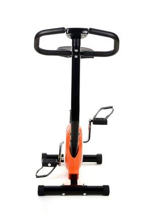 Rower treningowy mechaniczny - pomarańczowy