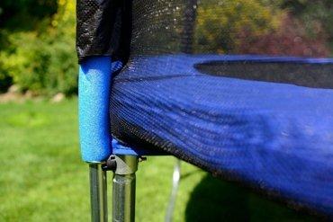 Trampolina ogrodowa dla dzieci 490cm FUNFIT z siatką zewnętrzną i drabinką